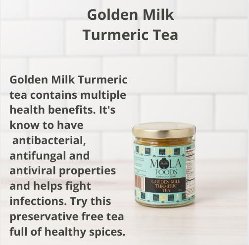 Golden Milk Turmeric Tea.