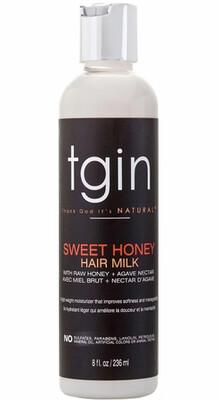 TGIN SWEET HONEY HAIR MILK 8oz