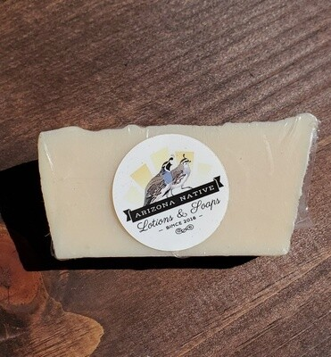 Goat Milk with hint of peppermint & eucalyptus