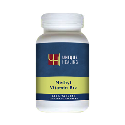 Unique Healing® Sublingual Methyl B-12