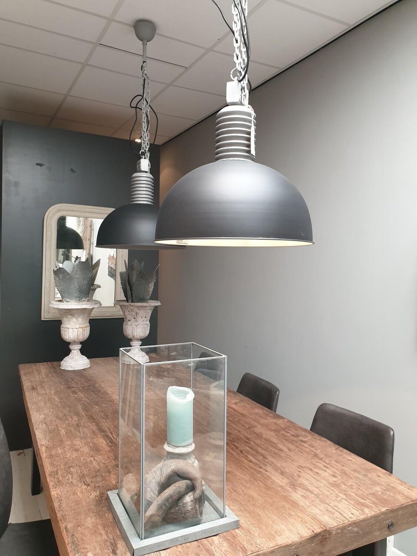 Hanglamp Lozz Grijs/zwart Frezoli / Tierlantijn