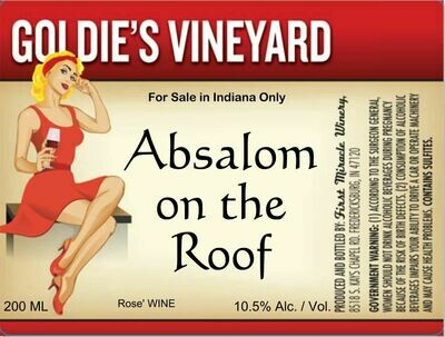 Absalom On The Roof