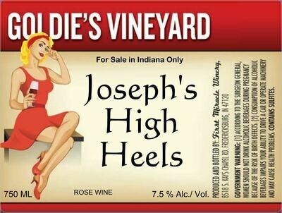 JOSEPH'S HIGH HEALS