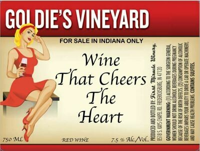 Wine that Cheers the Heart