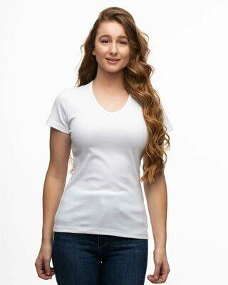 Switcher BIO V-Ausschnitt T-Shirt rundhals
