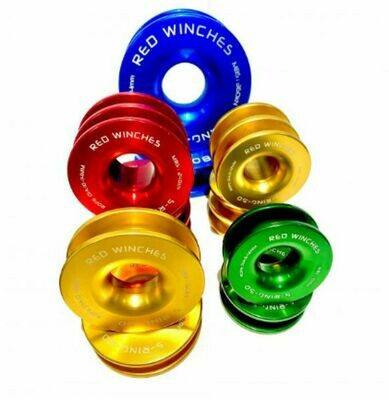 Red Winch Snatch Ring AL8t