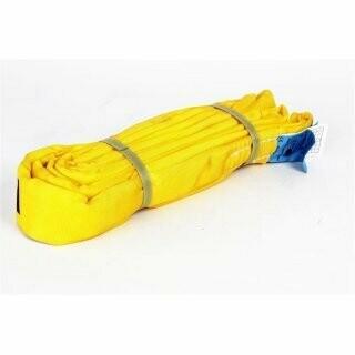 Seilflechter Forstrundschlinge 3m für Seilwinde bis 4.5t gelb