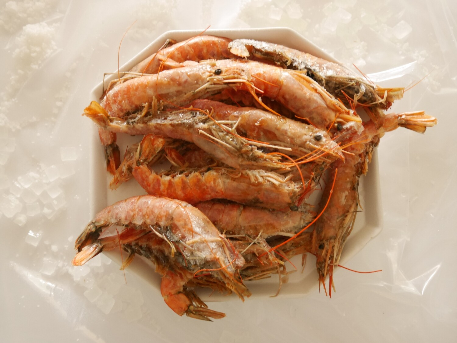 Argentinian Shrimp Head On, Skin On (priced per pound)