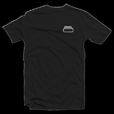 shirt fuaf - white 12 on black