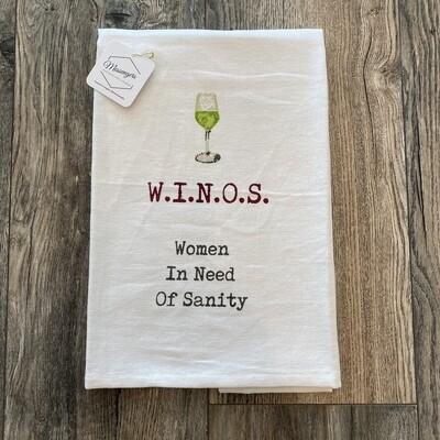 Winos Wine Towel