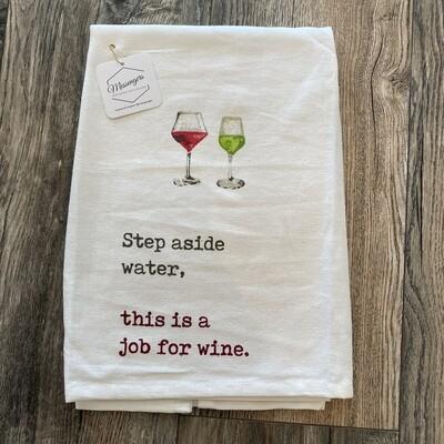 Step Aside Water Towel