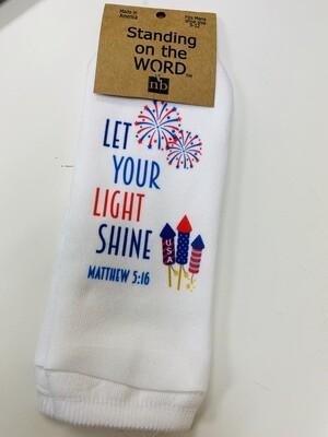 Let Your Light Shine Socks