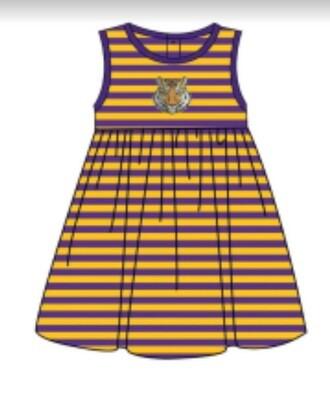 Pre-Order Tiger Knit Dress