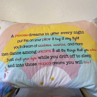 Princess Dreams Pillow Case