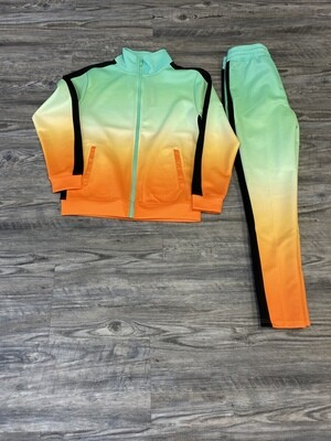 Rebel Minds Dip Dye Track Pants