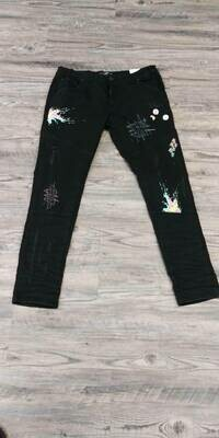 Blac Leaf Stay Strong Jeans