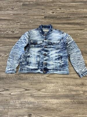 Evolution Denim Jacket | Ice blue
