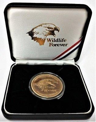 Bronze Commemorative Medallion