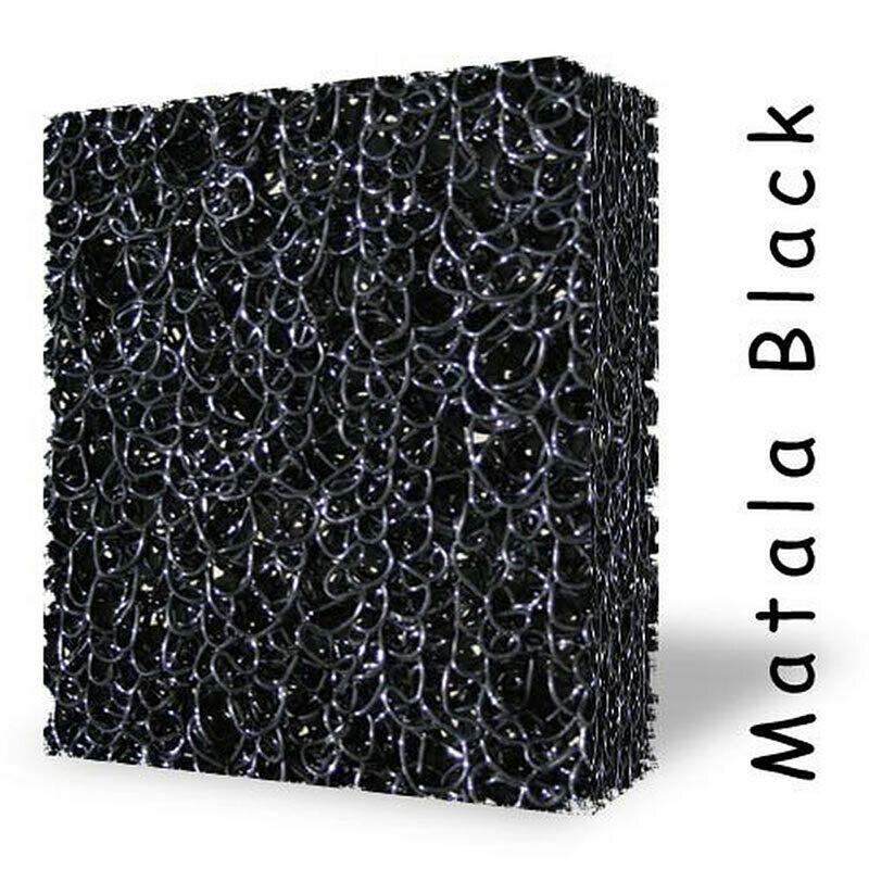 Black Matala Filter Media - 1/2 Sheet