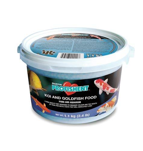 Hydrosphere water gardens profishent koi goldfish food for Goldfish pond kits
