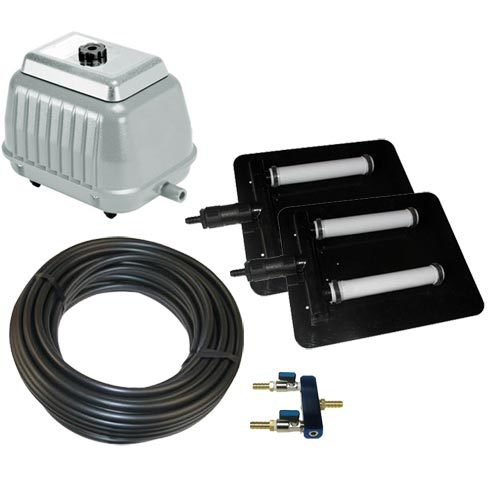 Pond Air 4 - Shallow Pond Aeration Kit Up to 1/4 Acre