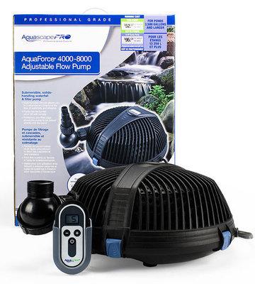 AquaForce Pro 4000-8000 GPH Solids Handling Waterfall Pump