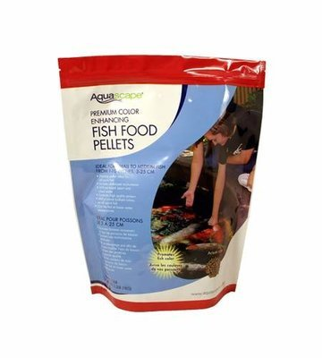 Aquascape Premium Colour Enhancing Fish Food Pellets 2 Kg