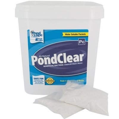 Pond Logic PondClear - Pond Clarifying Bacteria - 12 Packets