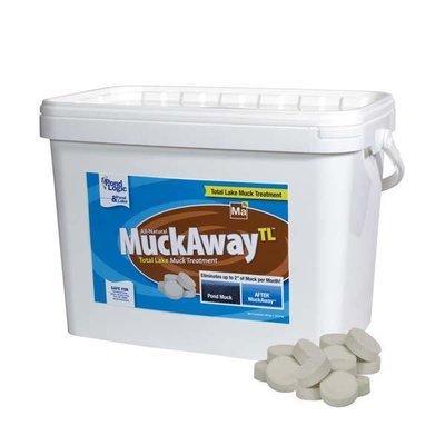 Pond Logic MuckAway TL - Total Lake 36 lb Pail