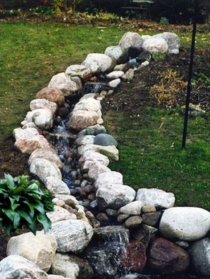Pondless Waterfall With 10' Stream Kit