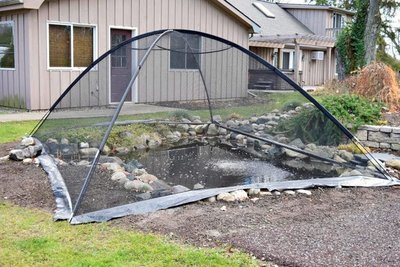 Deluxe Pond Cover Tent - 8' x 10'