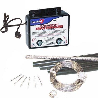Electric Fence Animal Deterrent Kit - 110 V