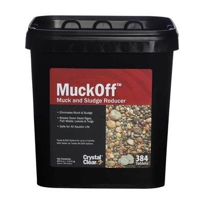 MuckOff - Muck & Sludge Reducer - 384 Tablets