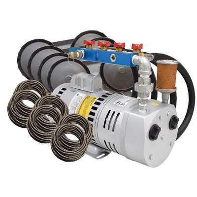 3/4 HP Rotary Vane Pond Aeration System - For Ponds Up To 4 Acres