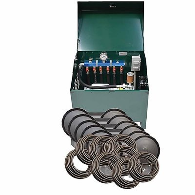 1HP Rotary Vane Aeration System with Cabinet - For Ponds Up To 6 Acres