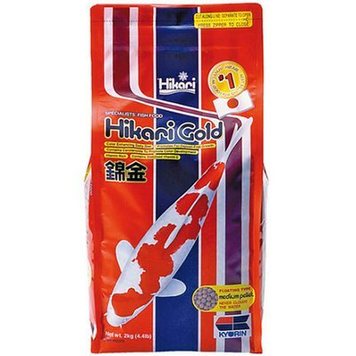 Hikari Gold Koi Food - 4.4 lb Med Pellet