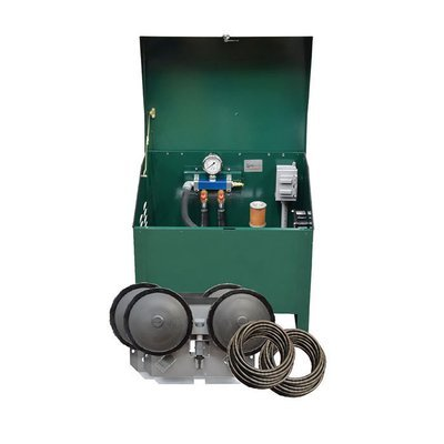 1/4 HP Rotary Vane Pond Aeration System with Cabinet - For Ponds Up To 2 Acres