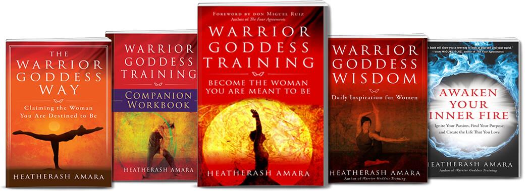 Warrior Goddess 5 Book Package