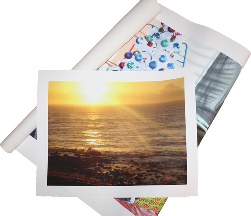 A2 594 x 420mm Cotton Photo Canvas Loose Print