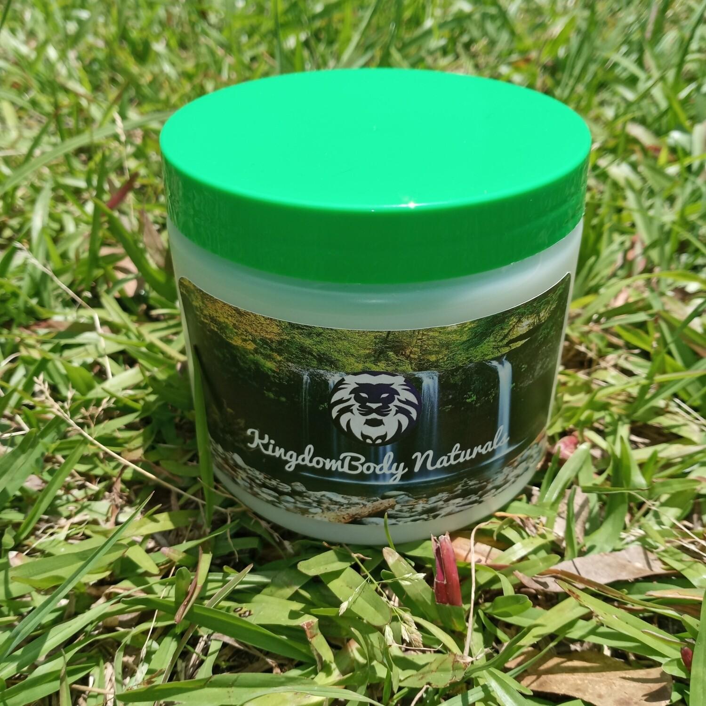 Organic Fermented Rice Water Hair Mask Conditioner Cream Lavender Vanilla