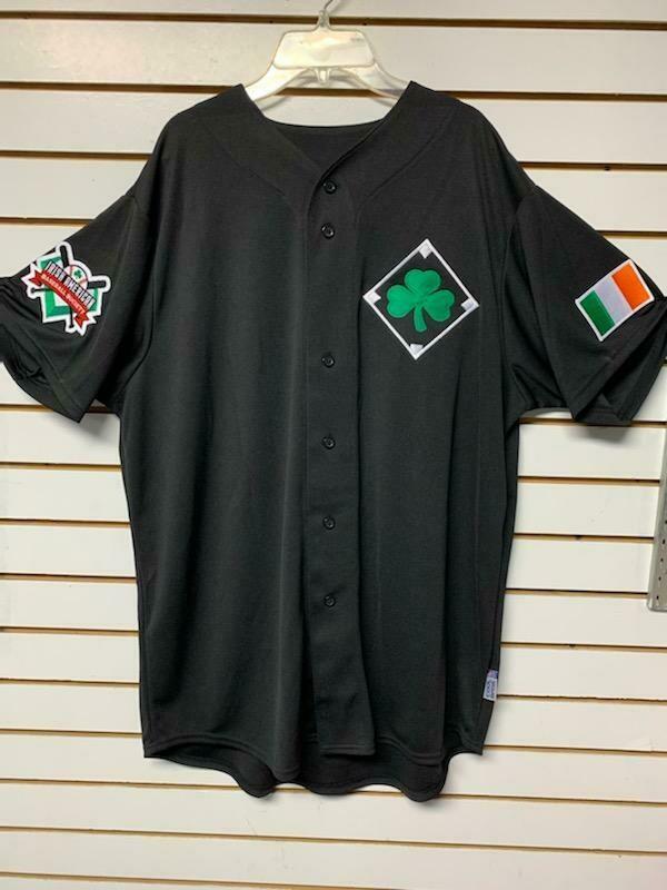 Irish American Baseball Society Jersey by Majestic
