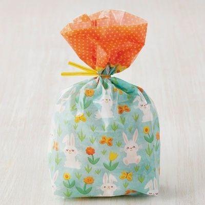 Wilton Easter Treat Bags -BUNNY -20τεμ σακουλάκια και συρματάκια για γλυκά & ζαχαρωτά Κουνελάκια και Λουλουδάκια