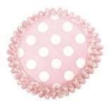 Culpitt BULK Cupcake Cases -Polka Dots PINK SPOTS -Θήκες Ψησίματος -Ροζ Πουά 504 τμχ