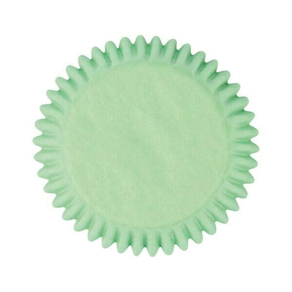 Cake Star Cupcake Cases -PLAIN PASTEL GREEN - Θήκες Ψησίματος - Παστέλ Πράσινο 50 τεμ