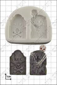 SALE!!! FPC -Silicone Mould -TOMBSTONES -Καλούπι Σιλικόνης Ταφόπλακες