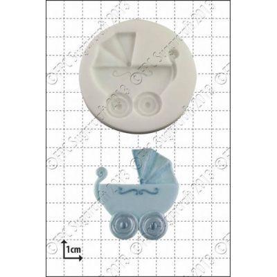 FPC Silicone Mould -BABY CARRIAGE -Καλούπι Καροτσάκι Μωρού