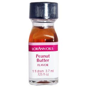 LorAnn - Oils Super Strength Food Flavouring Peanut Butter - Φυσικό Έλαιο Φυστικοβούτυρο - 3.7ml ∞