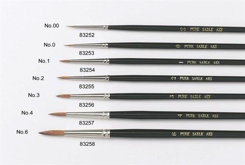 SALE!!!  Culpitt -Sable Artist Brush Νo.6 -Πινέλο με Mαλακές Tρίχες Νο 6