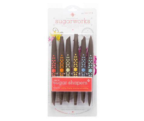 SALE!!! Innovative Sugarworks - Sugar Shaper Tools Firm Tip - Εργαλεία Ζαχαροπλαστικής Διπλής Όψης - 6τεμ/πακέτο