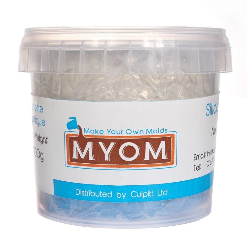 Make Your Own Molds Silicone Plastique Putty Mould Making Kit 200γρ Σιλικόνη για Κατασκευή Καλουπιού